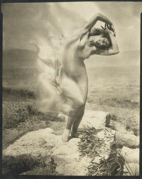 Wind Fire -- Thérèse Duncan on the Acropolis, 1921